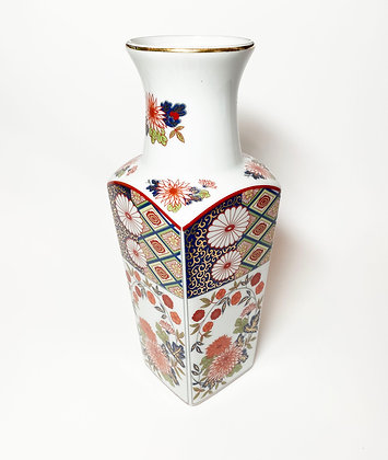 Floral Geometric Vase