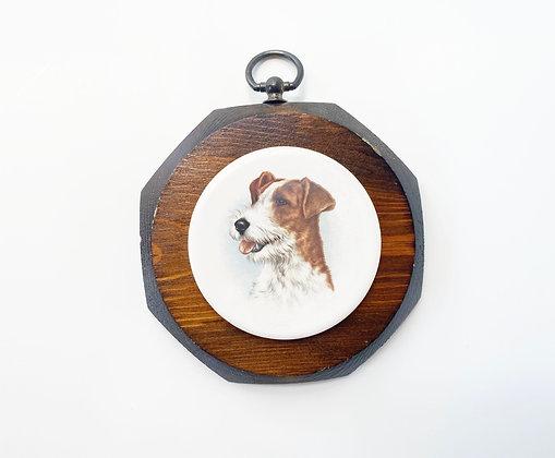 Vintage Beagle Pet Portrait Wall Art