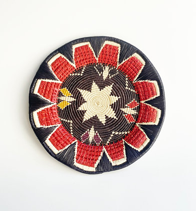 Handmade Geometric Woven Tray