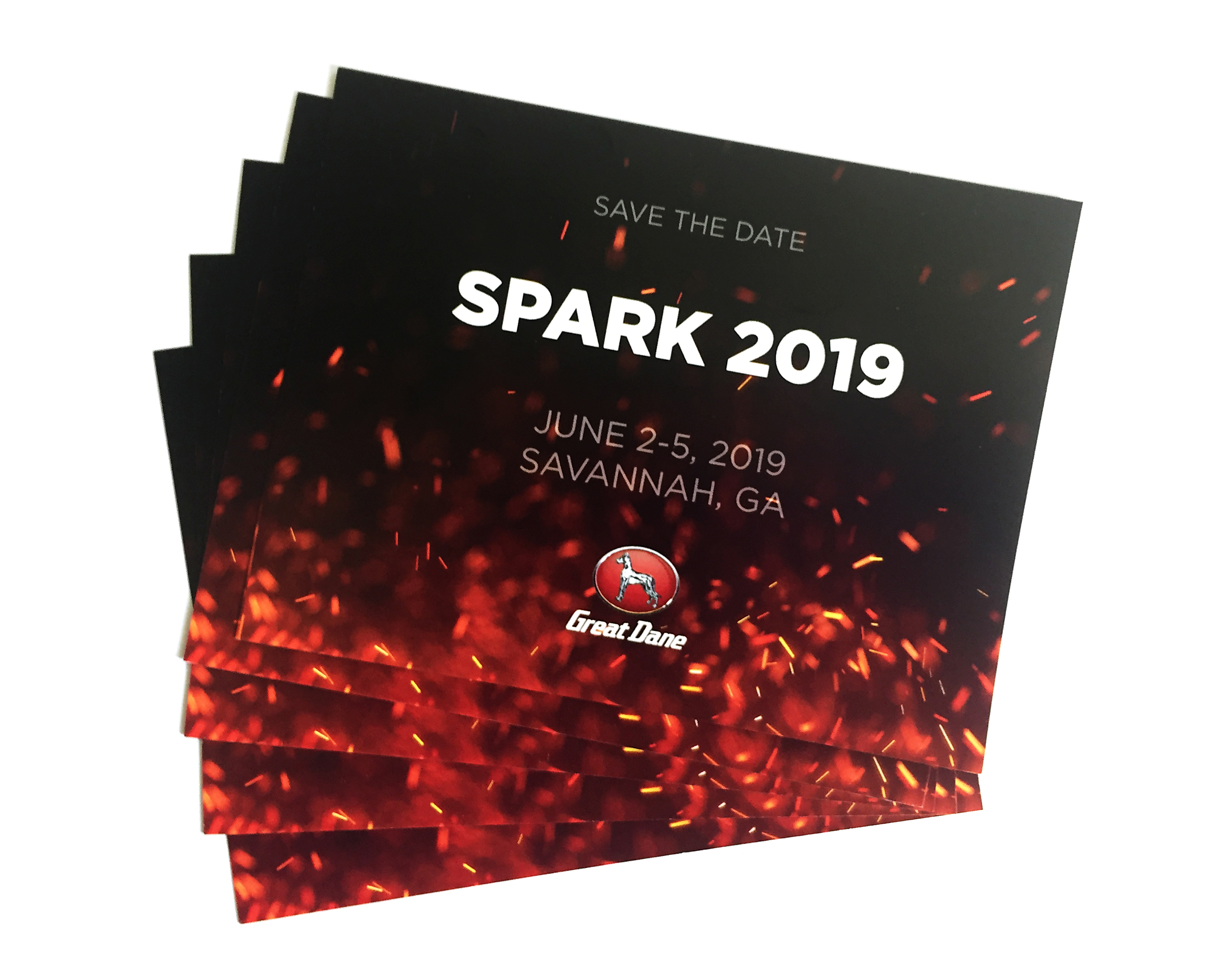 Spark Event Promotional Postcard