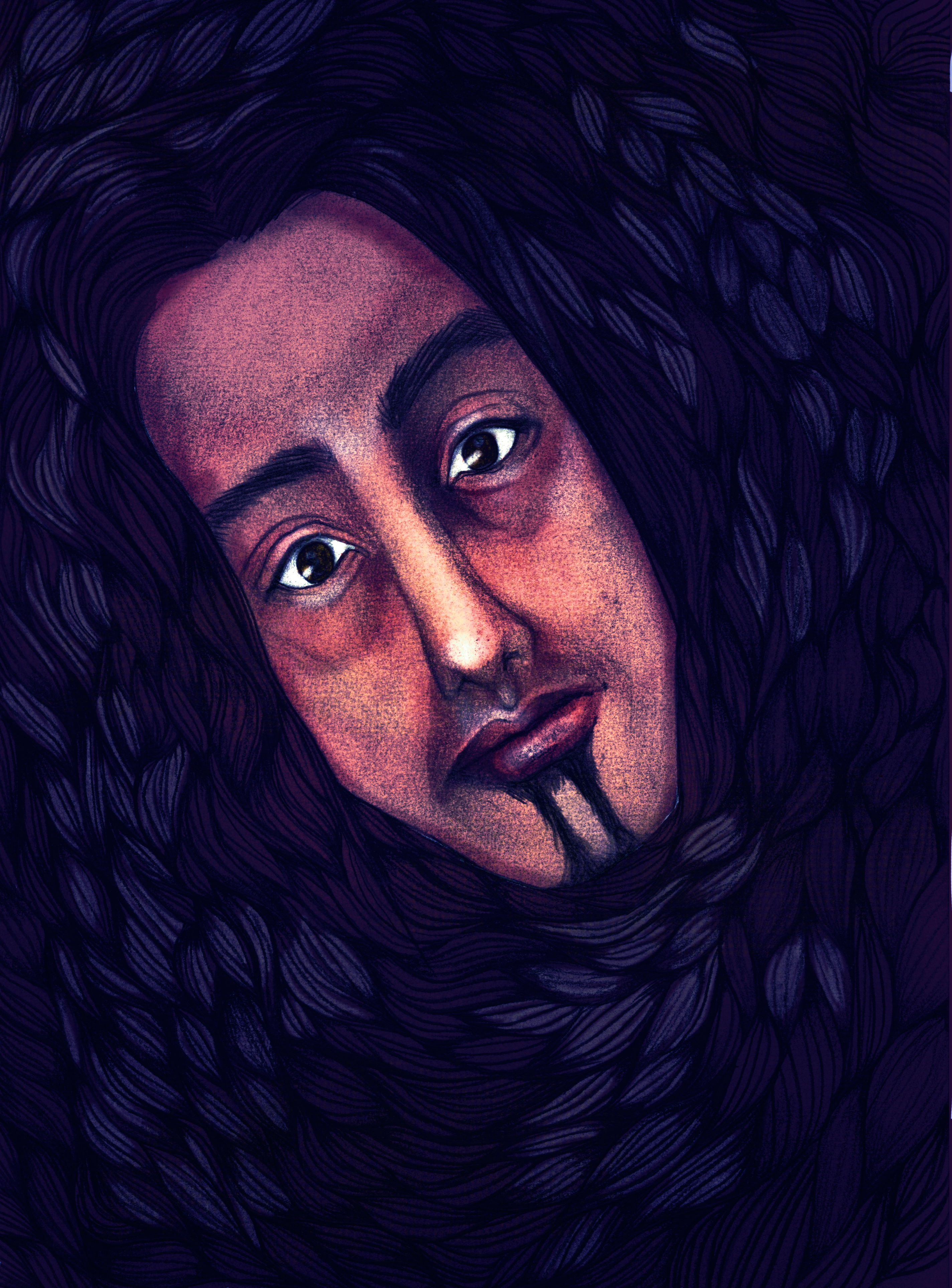 Bassnectar Caricature Portrait