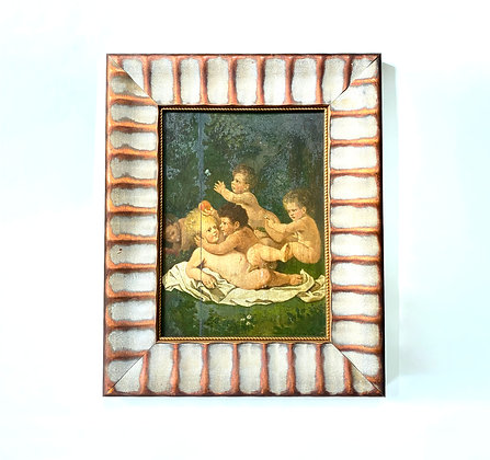 Victorian Cherub Framed Art