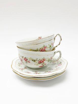 English Rose Teacup Set