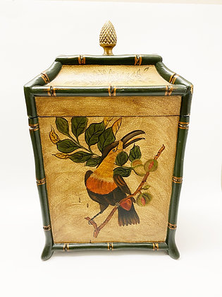 Hand-painted Wooden Decorative Box