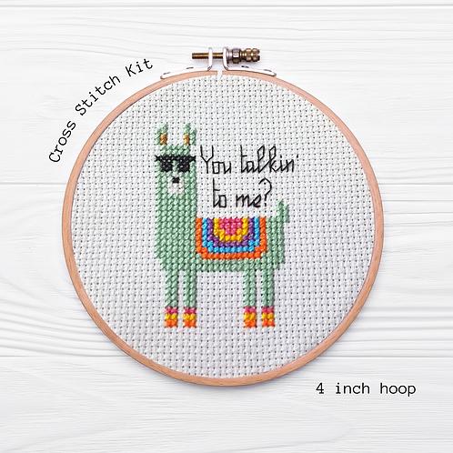 KIT Llama Cross Stitch