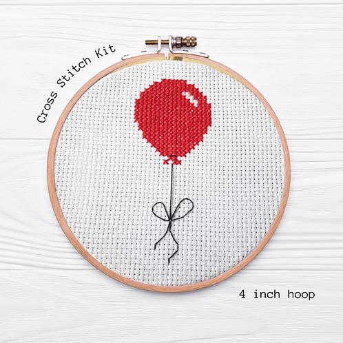 KIT Balloon Cross Stitch