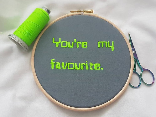 You're my favourite