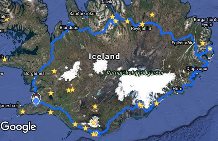 Land of Fire and Ice- Birth place of Lord of the Rings