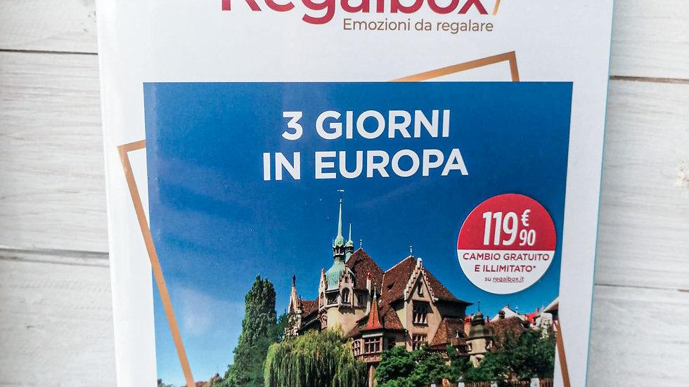 3 giorni in Europa