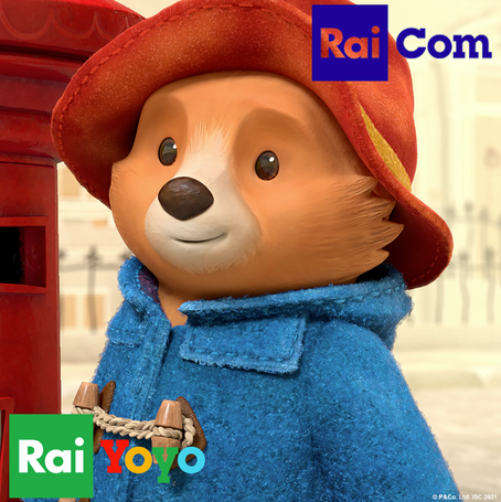 Rai Com becomes the Italian agent for the Paddington Franchise