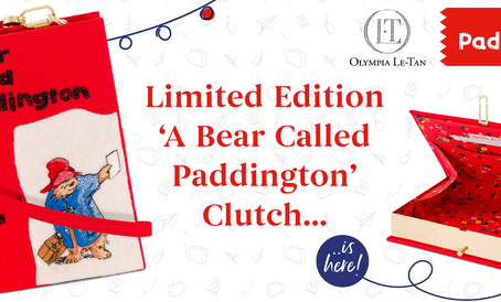 Olympia Le-Tan launches exclusive Paddington Clutch Bag collab