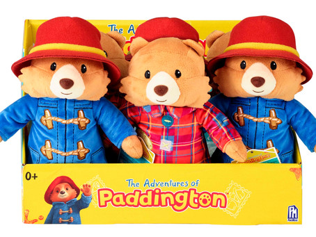 The Adventures of Paddington Toy Range by Phat Mojo and Rainbow Designs will launch in October!