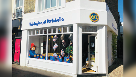 60TH ANNIVERSARY PADDINGTON SHOP AT PORTOBELLO