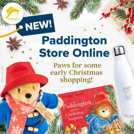 THE COPYRIGHTS GROUP LAUNCHES NEW UK PADDINGTON ONLINE STORE
