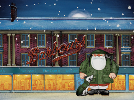 BARBOUR LAUNCHES NEW CHRISTMAS CAMPAIGN INSPIRED BY RAYMOND BRIGGS
