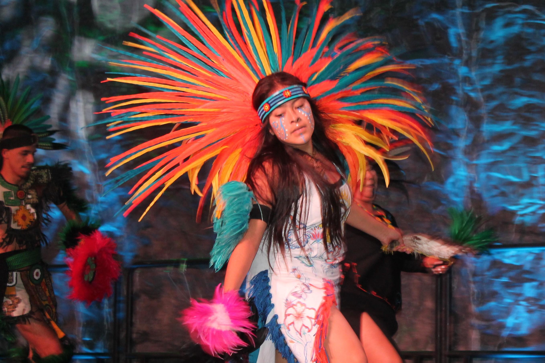 Aztec Dancer Cropped