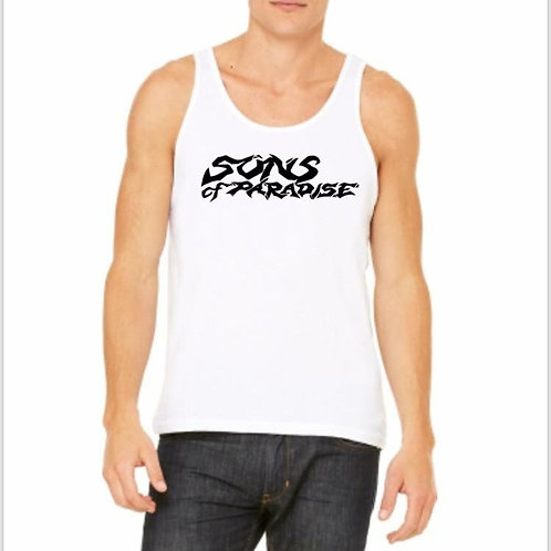 Sons of Paradise White Tank