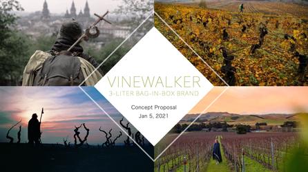 Vinewalker brand concept