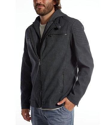 Chandler Vegan Leather Moto Jacket