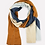 Thumbnail: Patchwork Straight Scarf - Neutral