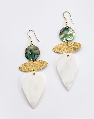 Mykonos Shell Earrings