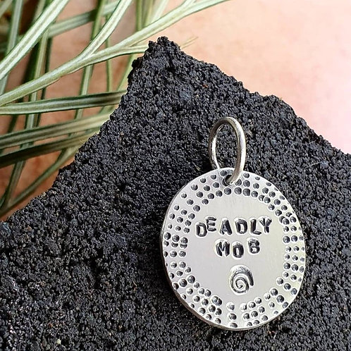 DEADLY MOB SPIRAL PENDANT / CHARM