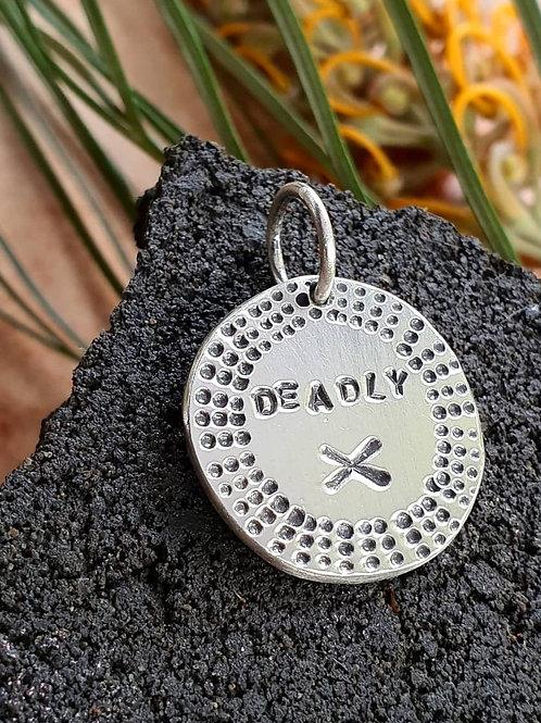 DEADLY X PENDANT / CHARM