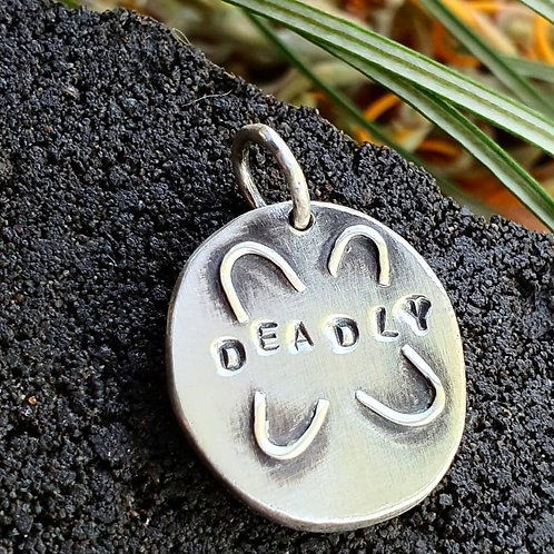 DEADLY GATHERING PENDANT / CHARM