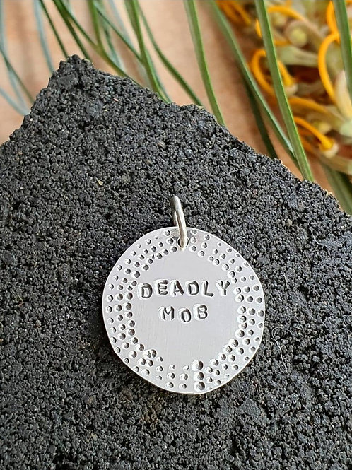 DEADLY MOB PENDANT / CHARM