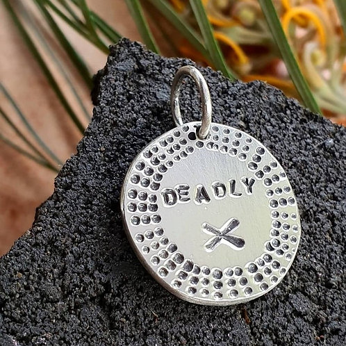 DEADLY X PENDANT / CHARM