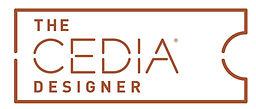 The CEDIA Designer logo