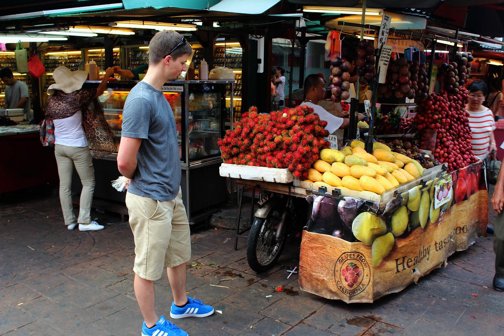 Ausschau am Markt