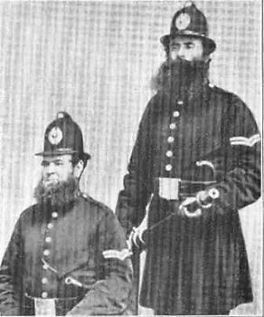 Liverpool 1850 City Police constables