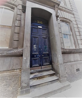 Old entrance door to Liverpool City Police Court