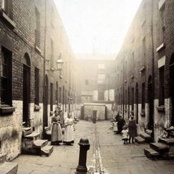 Court off Prince Edwin Street, Liverpool