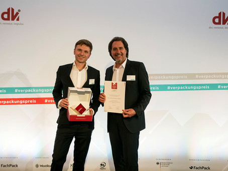 Inuru wins major German Packaging Award in 2017