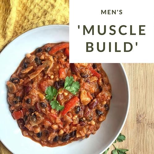 """Muscle Build"" Men's Package"