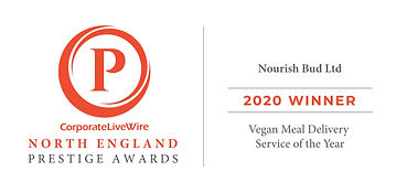 Nourish Bud Prestige Awards - Vegan Meal Delivery Service of the Year Winner