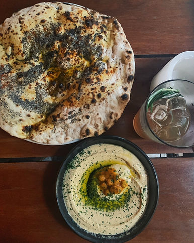 Hummus and Flatbread