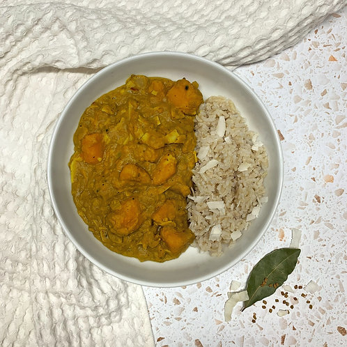 Sri Lankan Squash Coconut Curry