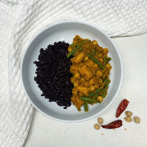 Chickpea & Vegetable Masala