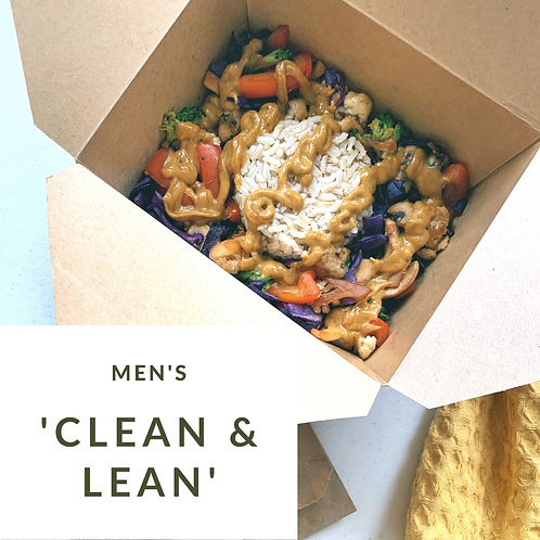 """""""Clean and Lean"""" Men's Weight Loss Package"""