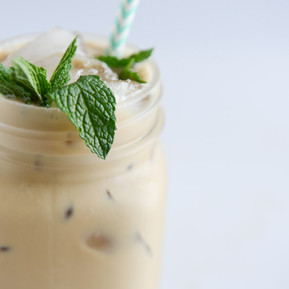 Coffee with a hint of mint!