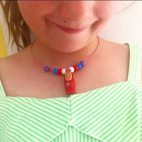 MYO: Babuska Doll Necklace