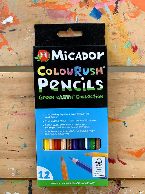 Micador Colour Rush Pencils
