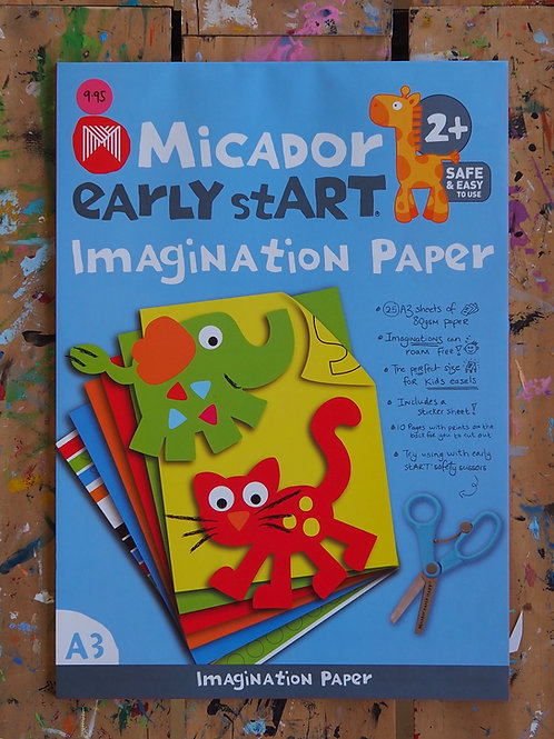 Micador Early Start Imagination Paper A3