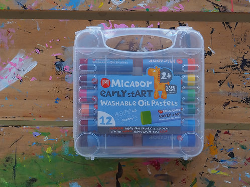 Micador Washable Oil Pastels 12 pack