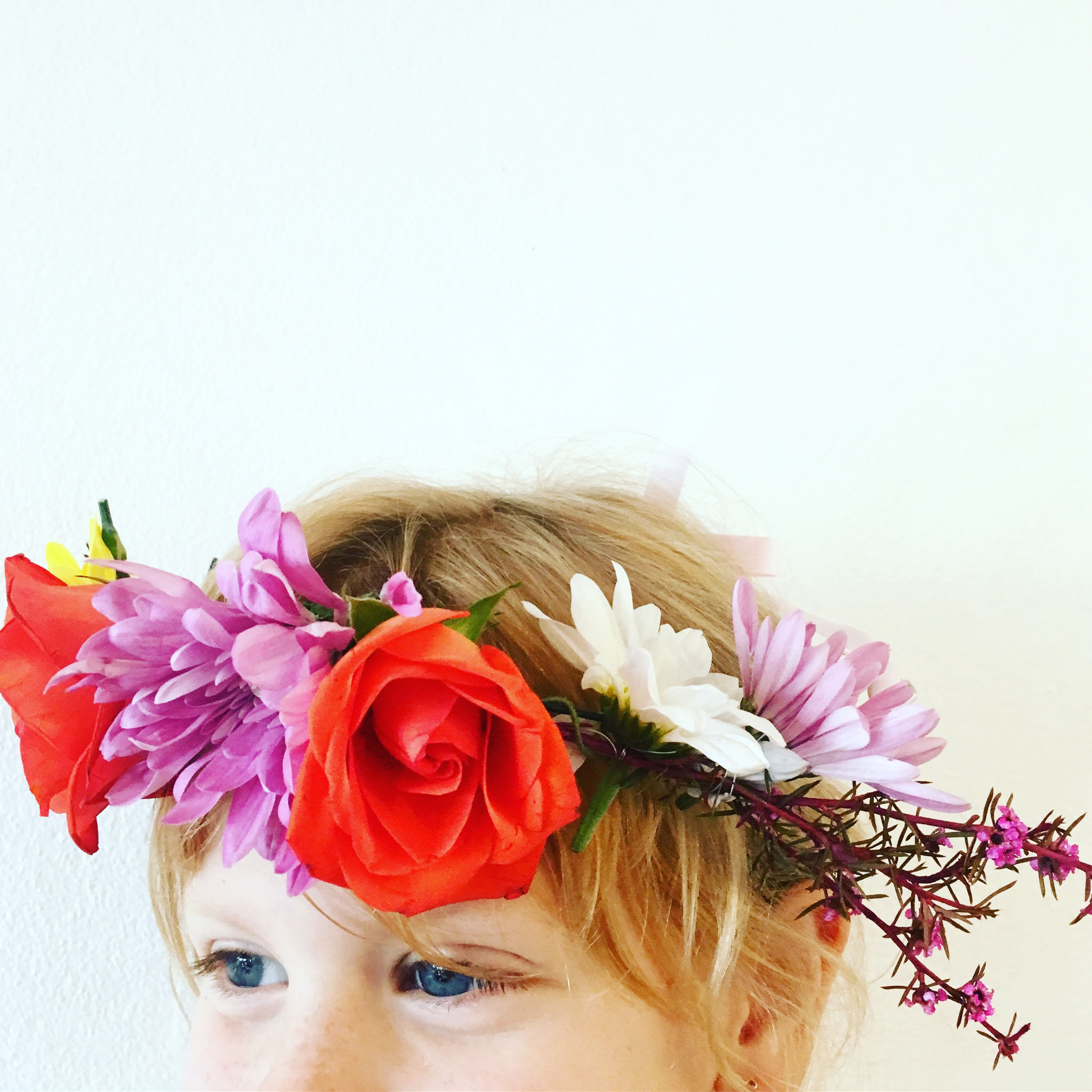 Easy Peasy Flower Crown Tutorial