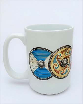 Viking Shield Mug
