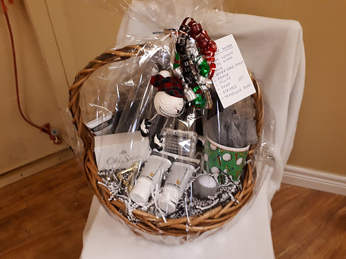 Gift Basket-For the Golfer